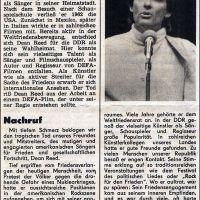 Una historia del pop-rock en la RDA (y 8): Dean Reed, un americano en Berlín oriental