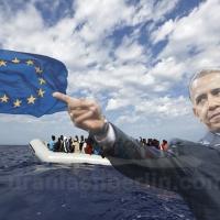 Washington financia la inmigración masiva hacia Europa
